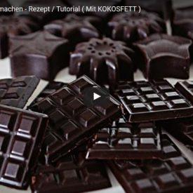 Schokolade mit kokosöl